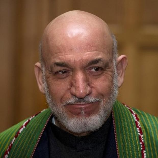 President Hamid Karzai is to resume talks with the British PM