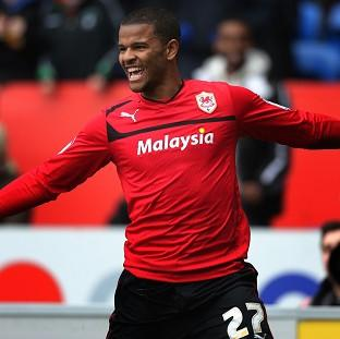 Fraizer Campbell bagged a brace for Cardiff