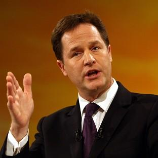 Nick Clegg announced that 20 more areas are to be given greater independence from Whitehall