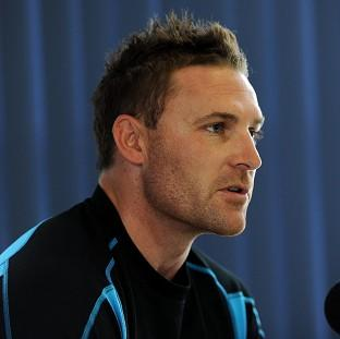 Brendon McCullum, pictured, insists Doug Bracewell's injury is a result of an accident