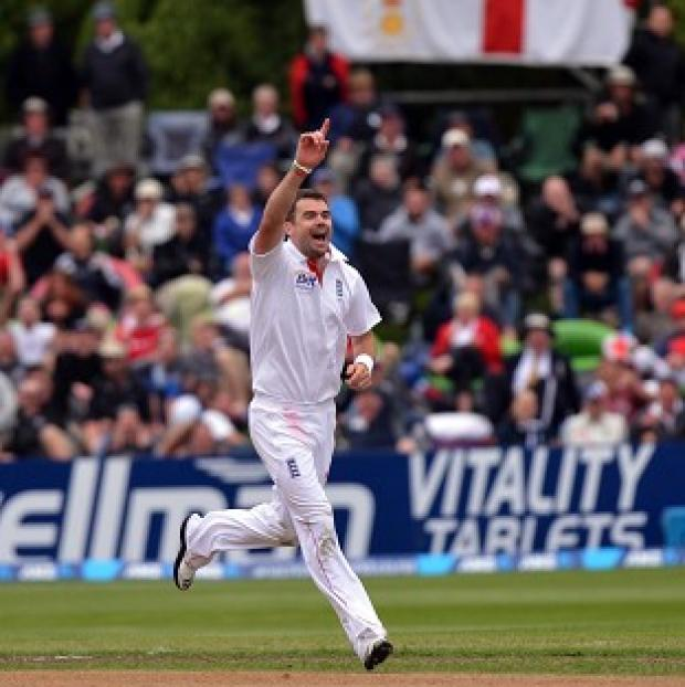 James Anderson claimed four for 108 on day three