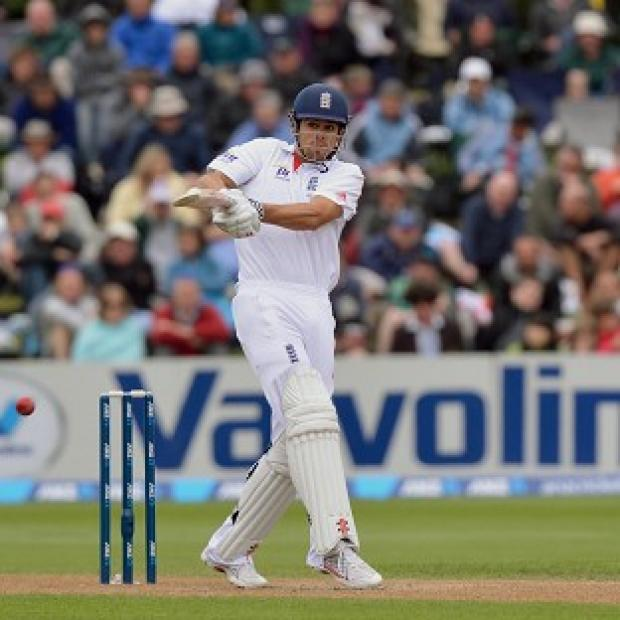 Alastair Cook helped get England's second innings off to a solid start