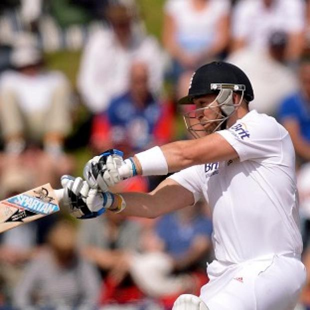Matt Prior helped put England in a commanding position in the second Test
