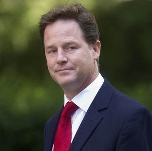 Nick Clegg, who was in favour of military action in Syria, accused Labour of using last week's Commons vote to score 'party political points'