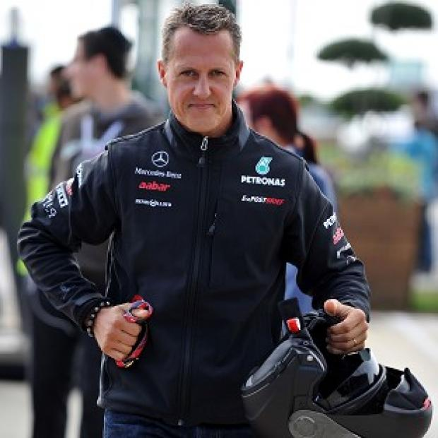 Blackpool Citizen: Michael Schumacher remains in an artificially induced coma