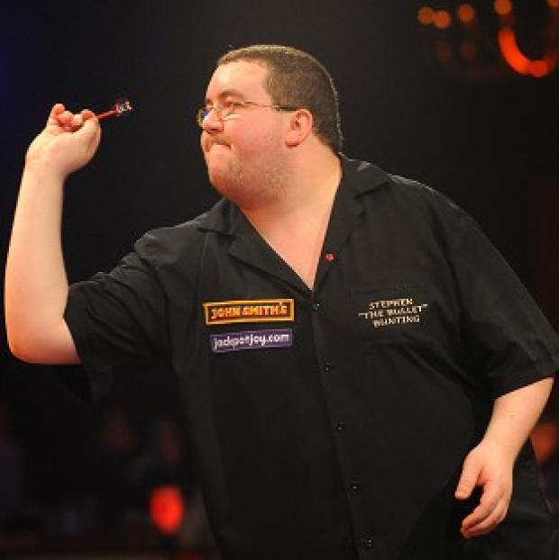 Blackpool Citizen: Stephen Bunting, pictured, looked strong against David Prins