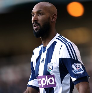 Nicolas Anelka caused the controversy at Upton Park in December