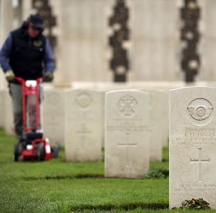 Blackpool Citizen: The Tyne Cot Cemetery and Memorial in Ypres, Belgium, as the Commonwealth War Graves Commission prepares for the centenary of the outbreak of the First World War