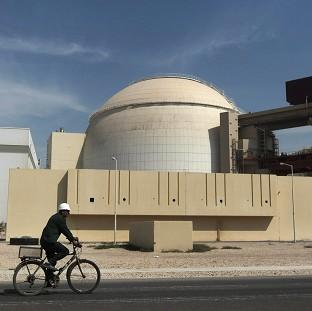 Blackpool Citizen: The reactor building of the Bushehr nuclear power plant, just outside the city in the south of Iran  (AP)