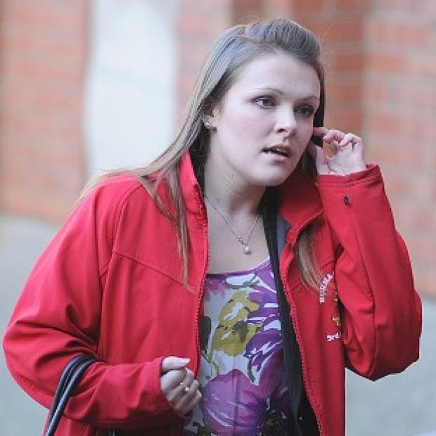 Blackpool Citizen: Rosie-Ann Stone arrives at Hull Crown Court