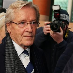 Blackpool Citizen: Coronation Street actor William Roache arrives at Preston Crown Court