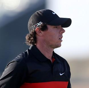 Blackpool Citizen: Rory McIlroy has had a slow start in Abu Dhabi