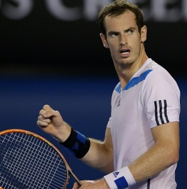Blackpool Citizen: Andy Murray, pictured, overcame Vincent Millot 6-2 6-2 7-5 (AP)