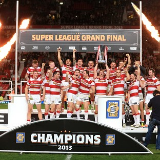 Wigan won the Grand Final at Old Trafford last year