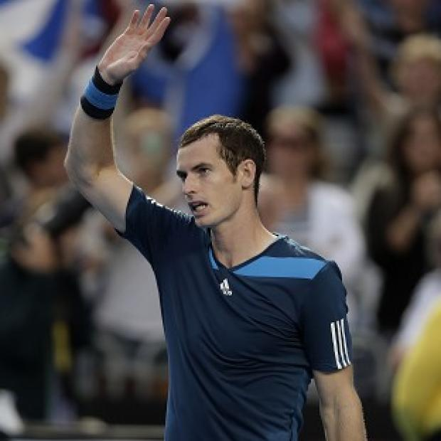 Blackpool Citizen: Andy Murray, pictured, overcame a blip to get past Stephane Robert (AP)