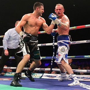 Carl Froch, left, beat George Groves, right, in their controversial bout in November