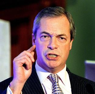 Blackpool Citizen: Ukip leader Nigel Farage says the party has attracted the wrong sort of people