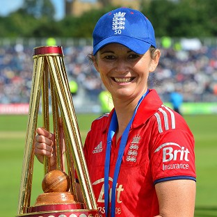 Charlotte Edwards has led England to double Ashes success this year
