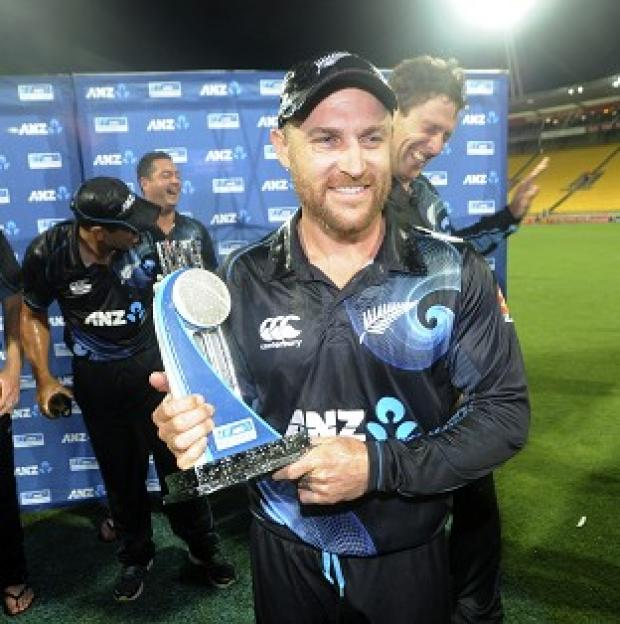 Blackpool Citizen: Brendon McCullum's side secured an 87-run win in Wellington (AP)