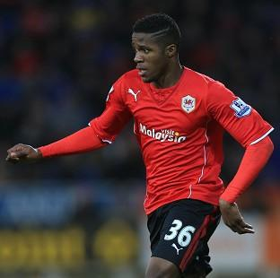 Blackpool Citizen: Wilfried Zaha impressed on his Cardiff debut
