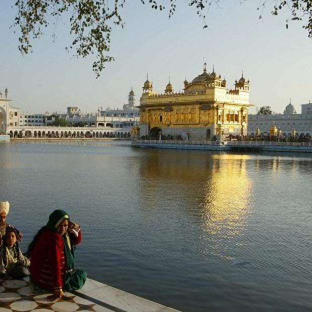 Blackpool Citizen: Hundreds died in the Indian operation to clear Sikh separatists   from the Golden Temple of Amritsar