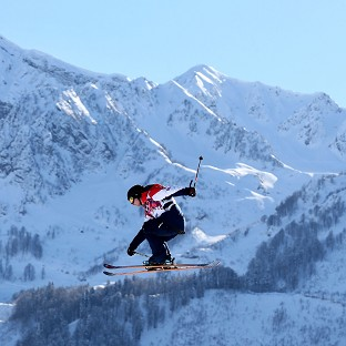 James Woods is still recovering from injury but is fit enough to compete in Thursday's Winter Olympics ski slopestyle