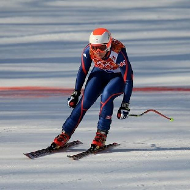 Blackpool Citizen: Chemmy Alcott finished 19th in the women's downhill