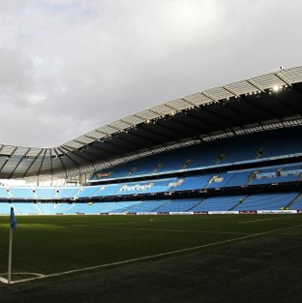 Blackpool Citizen: The Etihad Stadium is one of a number of grounds to have been battered by heavy winds