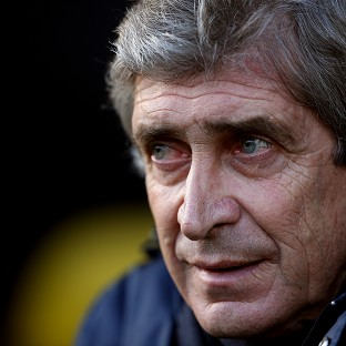 Manchester City's Manager Manuel Pellegrini is hoping for victory against Chelsea