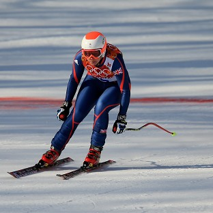 Great Britain's Chemmy Alcott was disappointed with her performance