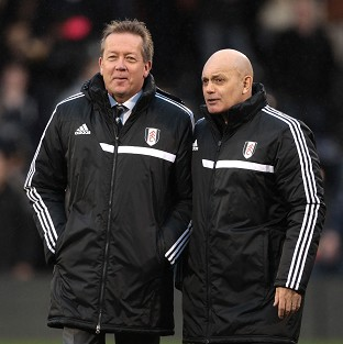 Alan Curbishley and Ray Wilkins only joined Fulham's fight for survival in December