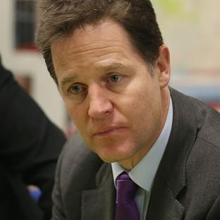 Blackpool Citizen: Nick Clegg has condemned the practice of confining mentally ill people to a police custody suite when appropriate services are not available