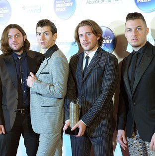 The Arctic Monkeys were the most streamed artists of the past year