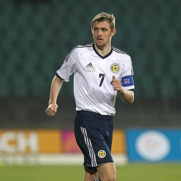 Blackpool Citizen: Darren Fletcher is back in the fold for Scotland