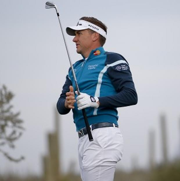 Blackpool Citizen: Ian Poulter, pictured, suffered a 2&1 defeat against Rickie Fowler (AP)