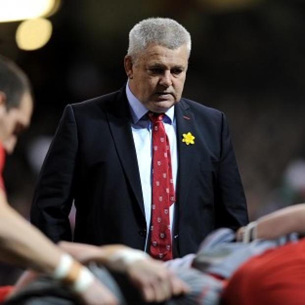 Blackpool Citizen: Warren Gatland was pleased with the character shown by his side
