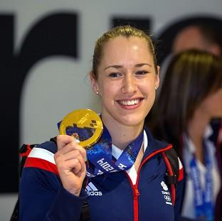 Blackpool Citizen: Lizzy Yarnold has not intention of switching sports