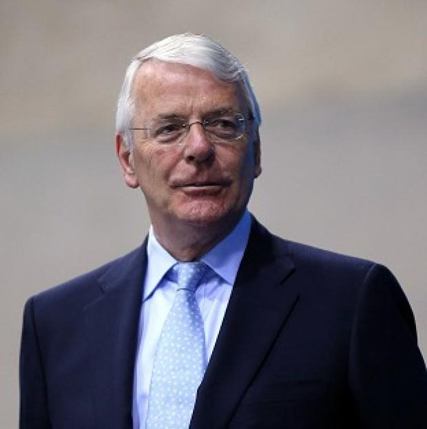 Blackpool Citizen: Sir John Major's life story makes him a symbol of the Conservative party, Grant Shapps said