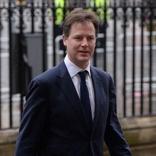 Blackpool Citizen: Deputy Prime Minister Nick Clegg has condemned Vladimir Putin's 'outdated mentality'