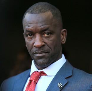Chris Powell, pictured, will be replaced by Jose Riga at Charlton