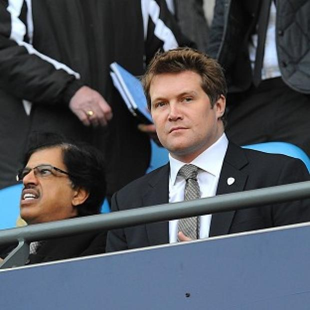 Blackpool Citizen: David Haigh said Leeds are not in danger of going into administration