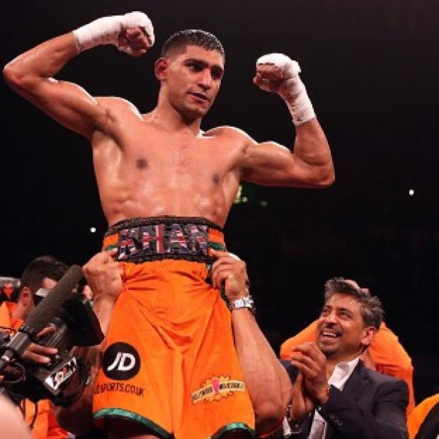 Blackpool Citizen: Amir Khan could return to action in May
