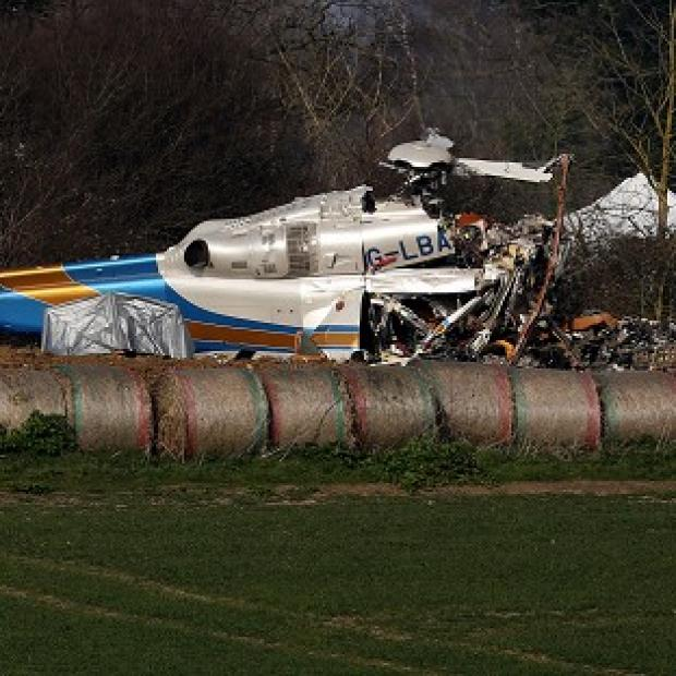 Blackpool Citizen: Investigators have begun recovering debris from last week's fatal helicopter crash in Norfolk