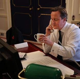 Blackpool Citizen: Prime Minister David Cameron has spoken to his Malaysian counterpart by phone