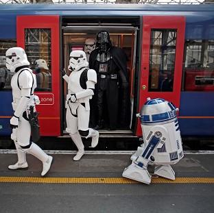 Blackpool Citizen: R2-D2 (right) is to feature in the new Star Wars film.