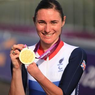 Blackpool Citizen: Paralympic champion Dame Sarah Storey has been named Celebrity Mum of the Year