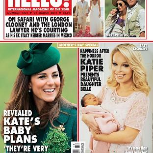 Blackpool Citizen: Katie Piper shows off her baby in Hello magazine