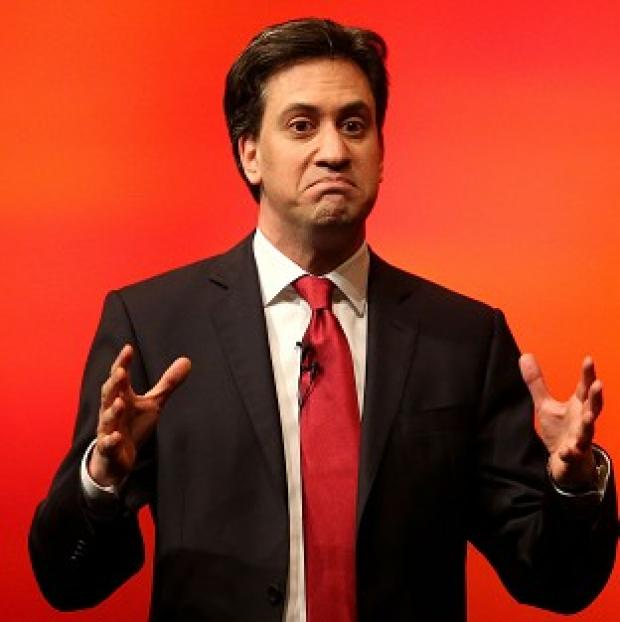 "Blackpool Citizen: Ed Miliband said he was relishing a ""close"" general election fight"