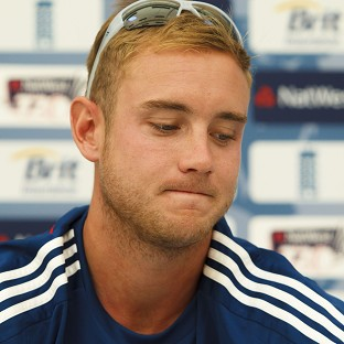 Stuart Broad says 'we're disappointed to be out of a World Cup but we can hold our heads high'