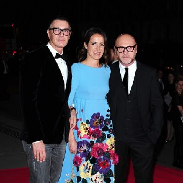 Blackpool Citizen: Domenico Dolce and Stefano Gabbana attending The Glamour of Italian Fashion 1945-2014 private dinner at the Victoria and Albert Museum, London.